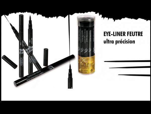 Eye liner feutre noir pas cher for Liner arme pas cher